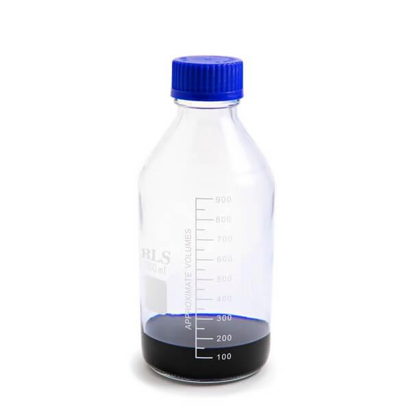 Schott bottle blue cap 1000ml